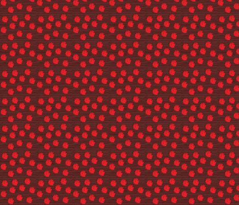 redflo fabric by angelheartdesigns on Spoonflower - custom fabric