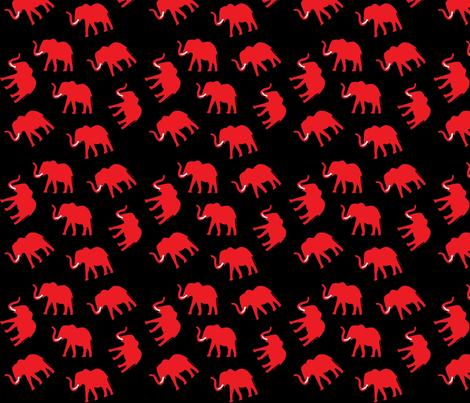 Elelephant10 fabric by angelheartdesigns on Spoonflower - custom fabric