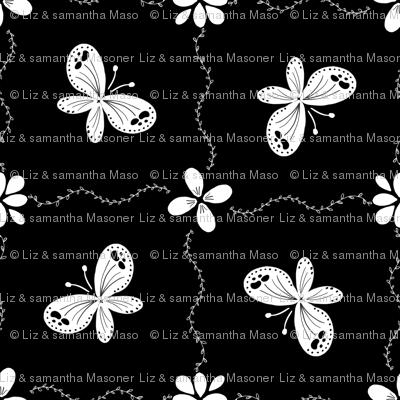 Chalkboard Butterflies
