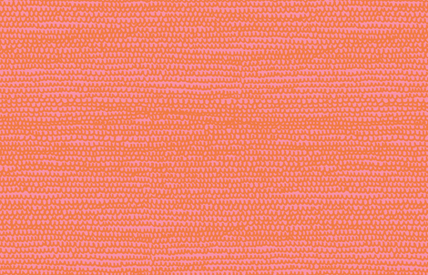 Doodle Water M+M Bubblegum Tangerine by Friztin fabric by friztin on Spoonflower - custom fabric