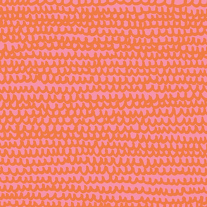 Doodle Water M+M Bubblegum Tangerine by Friztin