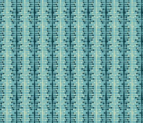 Atomic mid-century modern fabric by roofdog_designs on Spoonflower - custom fabric