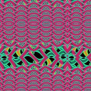 Drop Stitched-Pink