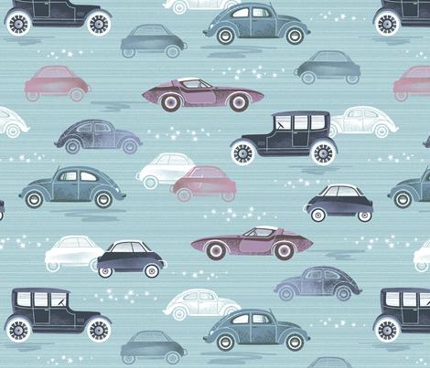 classy cars fabric by catalinakim on Spoonflower - custom fabric