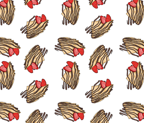 Crepes fabric by bambi_illustrates on Spoonflower - custom fabric