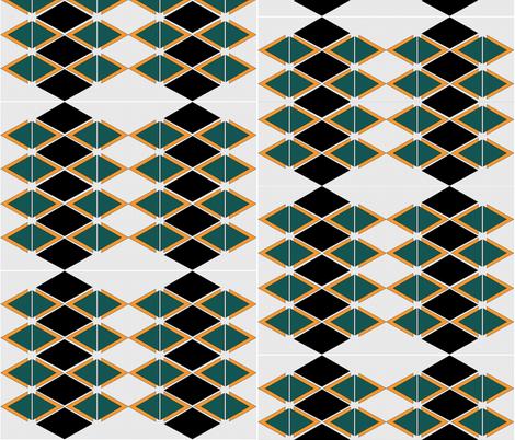 Diamond Days II fabric by sabrina_nowling on Spoonflower - custom fabric