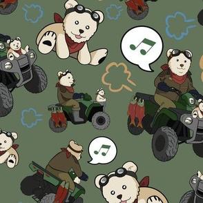 Go Go Bear Rider!