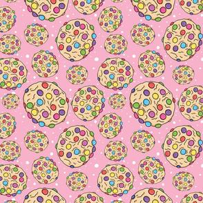 Smartie Cookie, Pink Spot