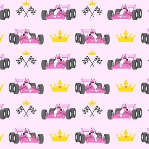 Princess race cars
