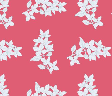 Flowers fabric by anna_lg on Spoonflower - custom fabric