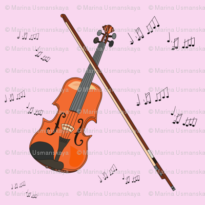 A violin for princess