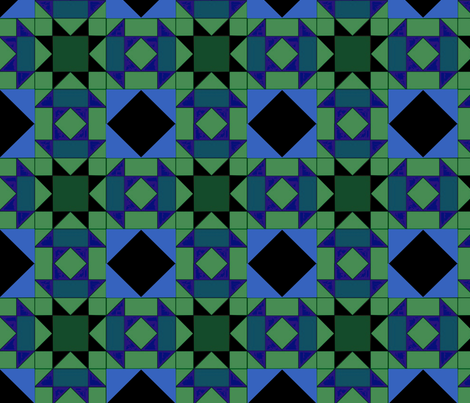 quilt pattern fabric1 fabric by dogdaze_ on Spoonflower - custom fabric