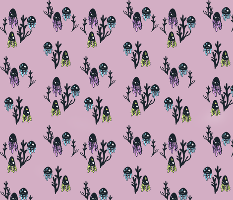 Awesome princess fabric by orla_the_golden_princess on Spoonflower - custom fabric