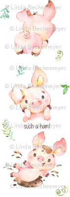 Such a Ham Piglet - Design for Children