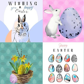 Happy Easter Patchwork