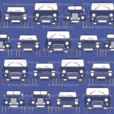 retro Russian cars