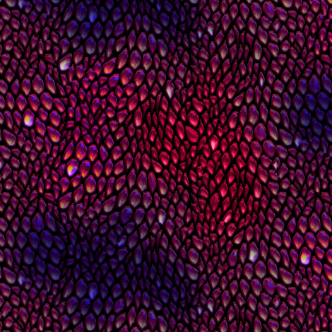sparkle pink blue purple metal dragon scales 2018 fabric by glimmericks on Spoonflower - custom fabric