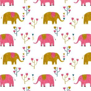 Elephants! Yeah!