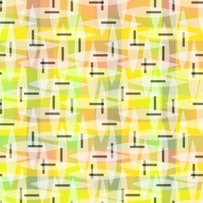 pastel plaid citrus