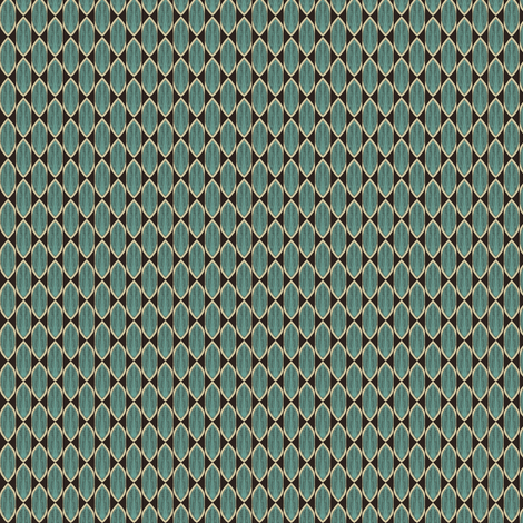 Tangled in turquoise fabric by sowgoodgreta on Spoonflower - custom fabric