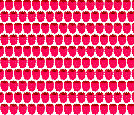 Raspberry-small fabric by kae50 on Spoonflower - custom fabric