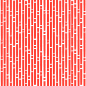 Chalk in Flame Red (inverted)