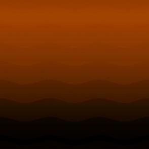 Orange to black ombre by Su_G