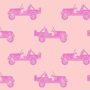 jeeps - pinks