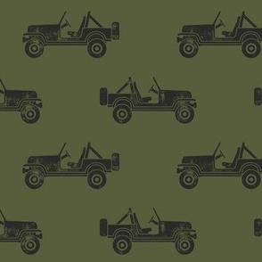 jeeps - green