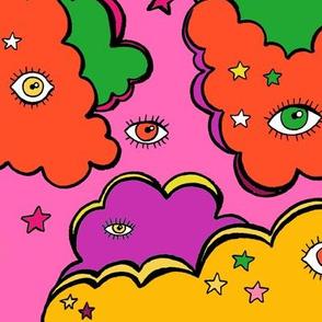 Stars Shine Like Eyes (Pink)