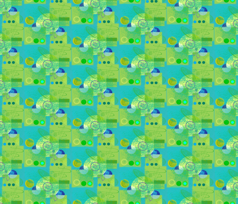 Tractor Truck fabric by dora_yvonne_textiles on Spoonflower - custom fabric
