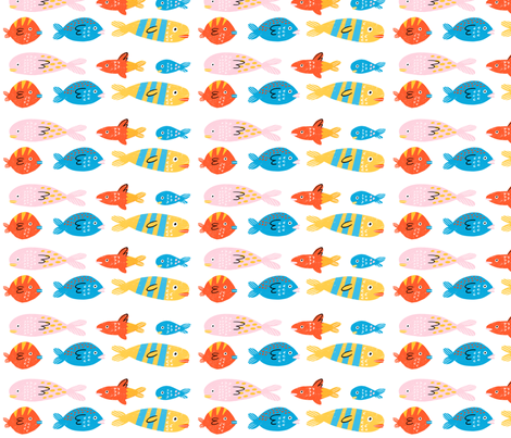 Fishes fabric by anda on Spoonflower - custom fabric