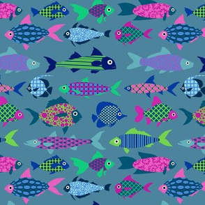 Fish (colourful)
