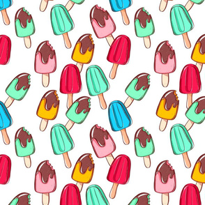 Ice cream pattern.