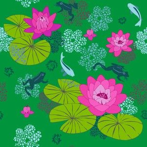 The Lily Pond (green)