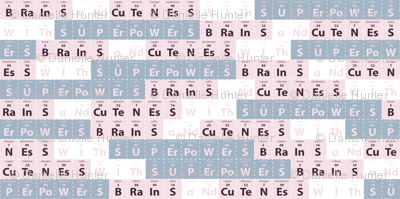 Brains and Cuteness with Superpowers_soft hues