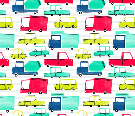 Going Places fabric by michelle_rimpf_designs on Spoonflower - custom fabric