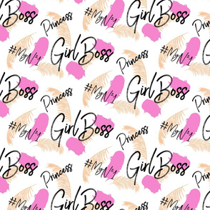Girl boss baby pattern