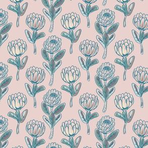 Protea rustic flowers