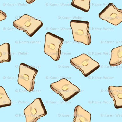 Buttered Toast, Blue