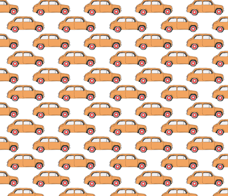Dad Taxi fabric by karen_illustrates on Spoonflower - custom fabric