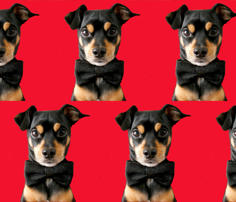 Top Dog fabric by debra_may_himes,_asid on Spoonflower - custom fabric