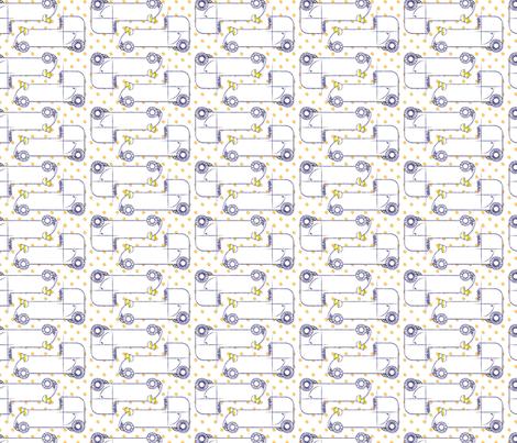 Sketchy Schemes & Racing Dreams fabric by katyluxionart on Spoonflower - custom fabric