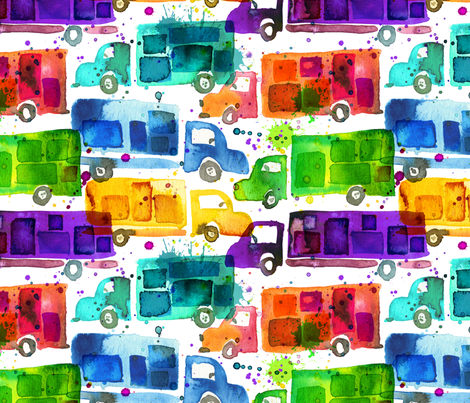 same day delivery fabric by karismithdesigns on Spoonflower - custom fabric