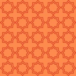 Orange plain