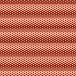 Kese Fabric maroon and Ivory/Cream