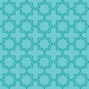 Turquoise plain