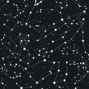 Nearly black constellations