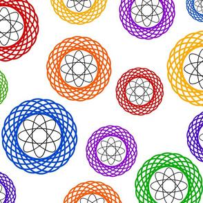 Rainbow Atoms