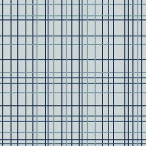 Grid in Blue Green shades